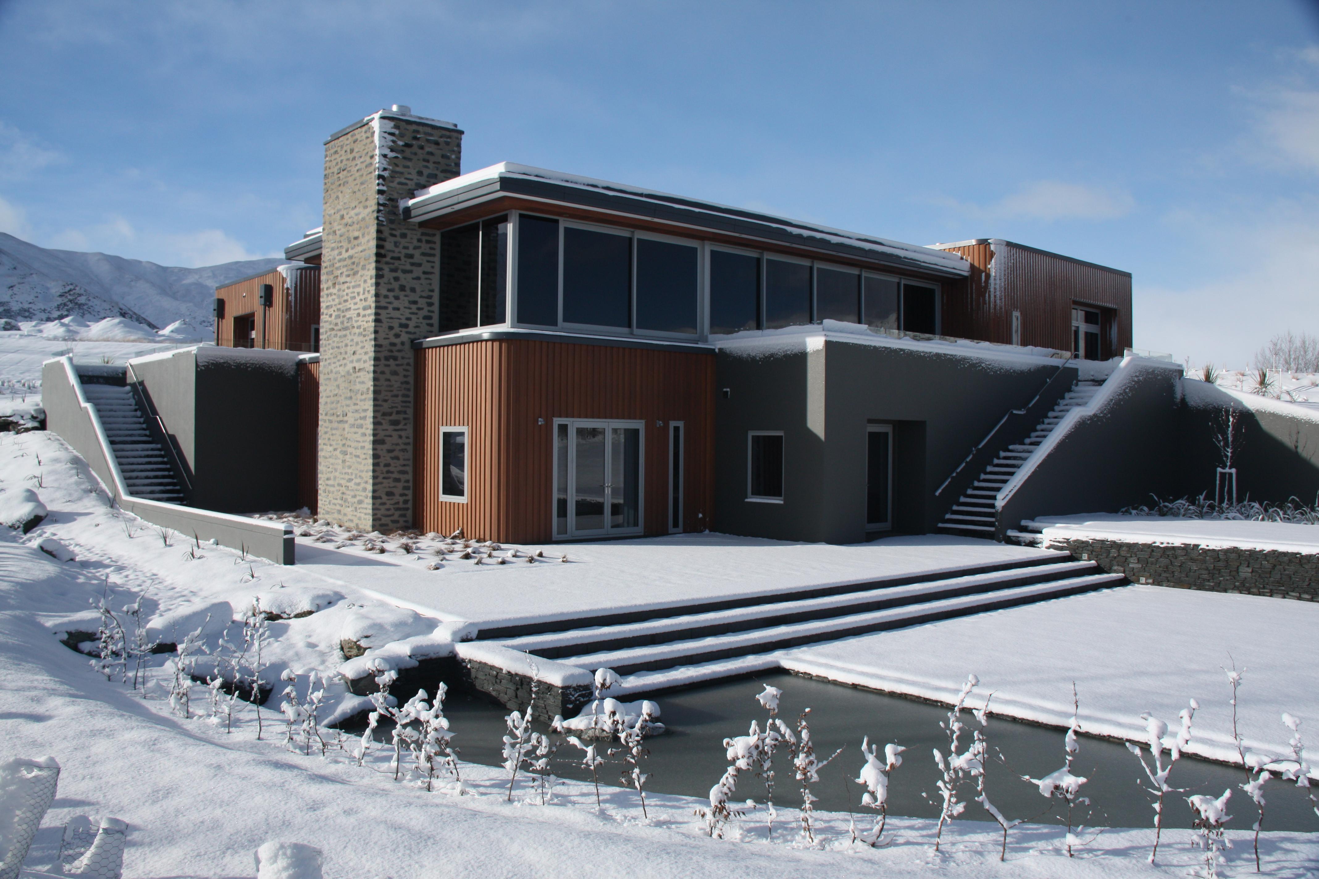 House design queenstown - Crowne Range Home